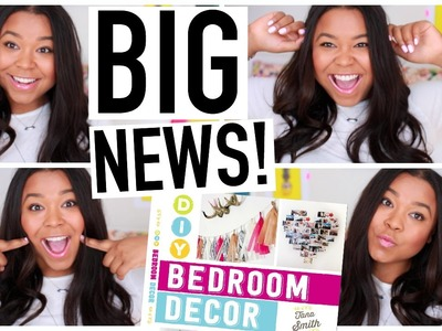 BIG NEWS! DIY Room Decor Book!