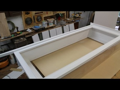 Bookcase Follow up, Bead Molding, Miter Cuts and Painting