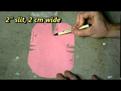 Cosplay Corner with Blaine: DIY Paper Pauldrons GEEKSOUT