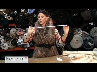 Craft Club: Faux Fur Vest