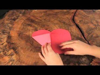 Craft Club's Heart Envelope Craft Video