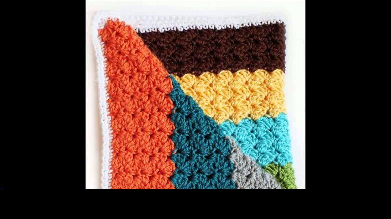 Crochet blanket edging pattern