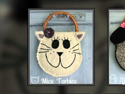 CROCHET HANDBAGS - design  by  MICE TORBICE
