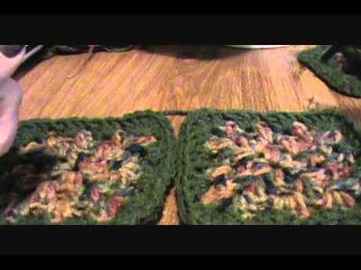 [Crochet Pattern Tutorial] Granny Square Beret (Video 3)