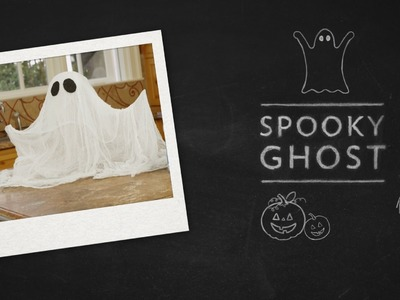 DIY Crafts: Create a Cheesecloth Ghost using Sta-Flo Starch