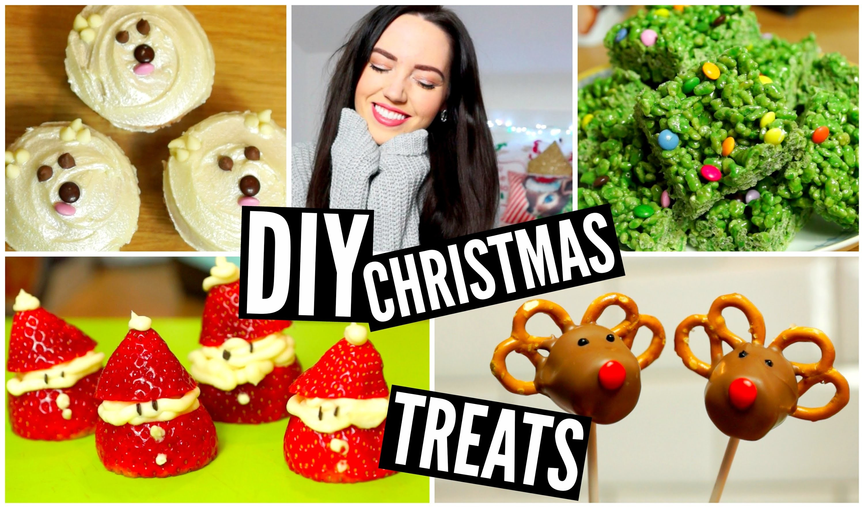 DIY Easy Christmas Treats | velvetgh0st ♡