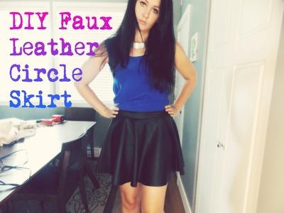 DIY Fashion: DIY Circle Skirt.Skater Skirt