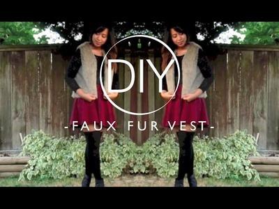 DIY | Faux Fur Vest