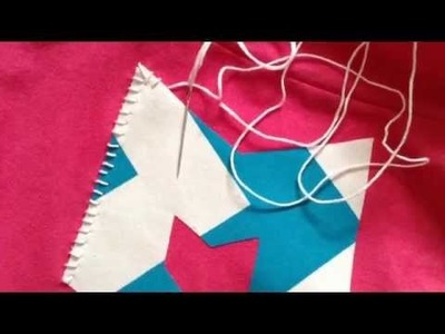 DIY: Greek Letter Shirts