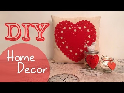 DIY│Home Decor inspired by Valentine Day