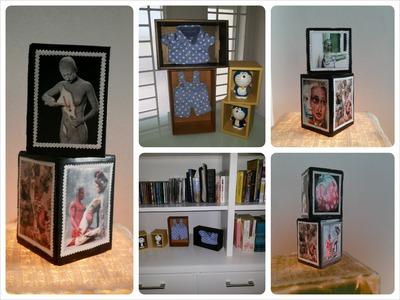DIY Home Decoration. Recycle Old or Unused Boxes Into Home Decoration