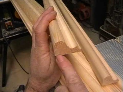 DIY Making a Door, part 5. timber mouldings cut with basic router