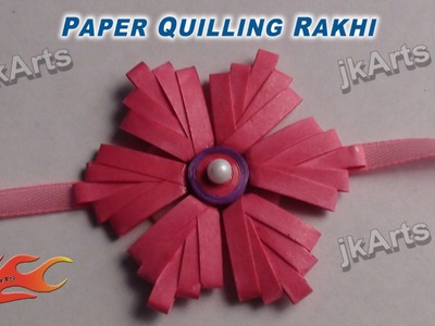 DIY Paper Quilling Rakhi For Raksha Bandhan - JK Arts 360