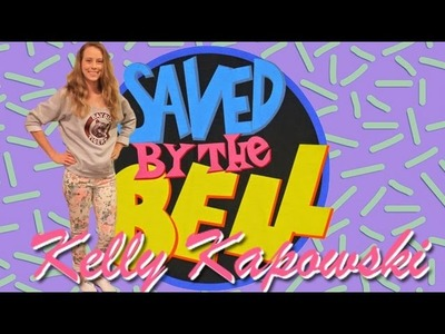 DIY Saved by the Bell Kelly Kapowski Halloween Costume