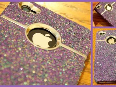 DIY Sparkle iPhone Case!