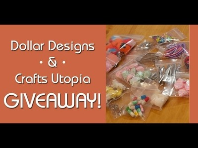 Dollar Designs and Crafts Utopia Giveaway