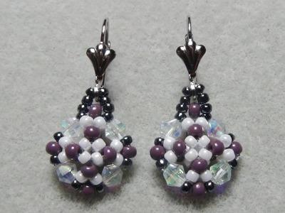 Elegant Beaded Earrings Tutorial