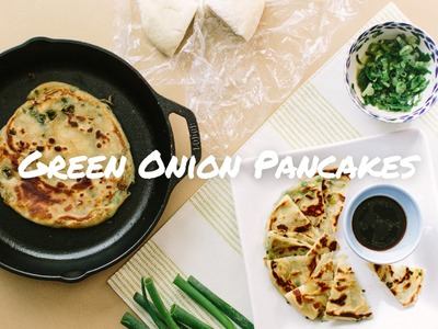 Green Onion (Scallion) Pancakes for a Snack or Breakfast!