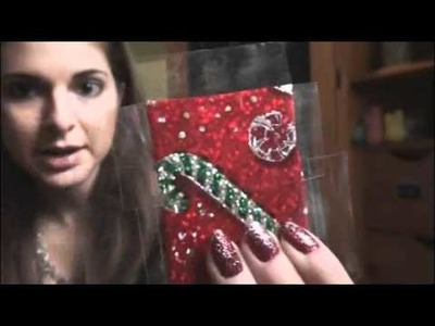 Holiday DIY: Present Magnet ((Christmas Gift Idea))
