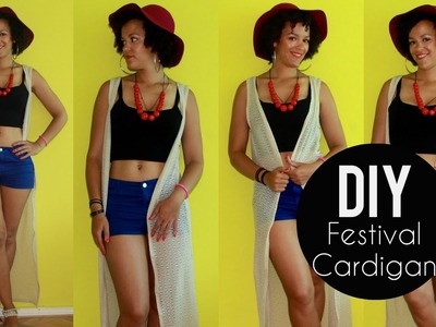 How To Make a Festival Cardigan | Sewing For Beginners