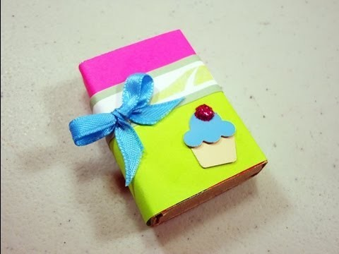 How to make a gift box from a matchbox - EP
