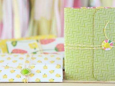 How to make a mini journal
