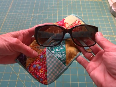 How to make a simple eyeglass case