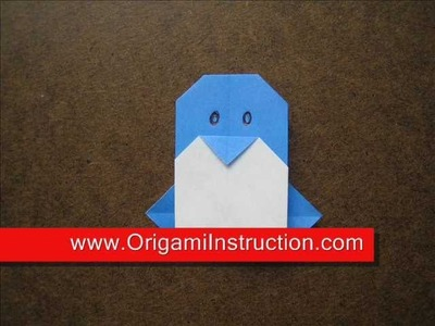 How to Make a Simple Origami Penguin