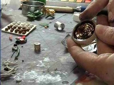 How to Make Drinks (Beer, milk, lemonade, coffee) for Miniature Dollhouse scene.  By Garden of Imagination