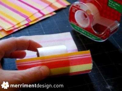 How to make fabric napkin rings from cardboard Saran Wrap tubes recycled craft idea