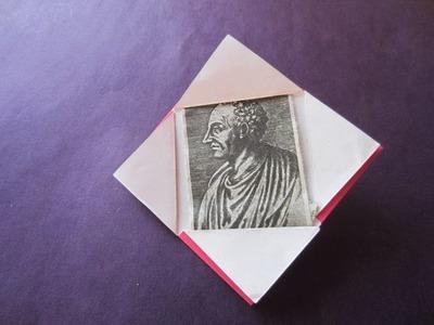 How to make kids easy photo frame work-craft art