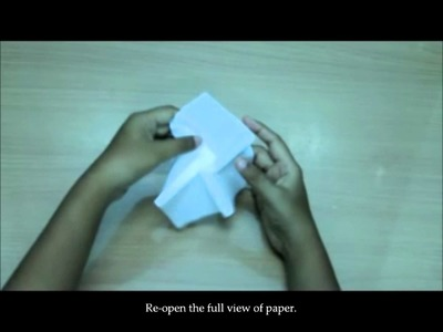 How to Make Origami Rose by Using Paper Towel