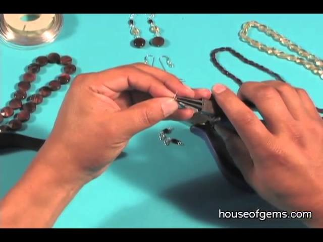 How to Make Sterling Silver Tiger's Eye Earrings