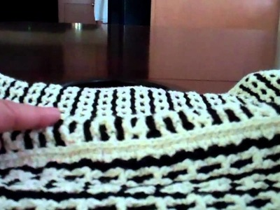 Interlocking Crochet™ - #7 How to  Put a Reversible Purse Together