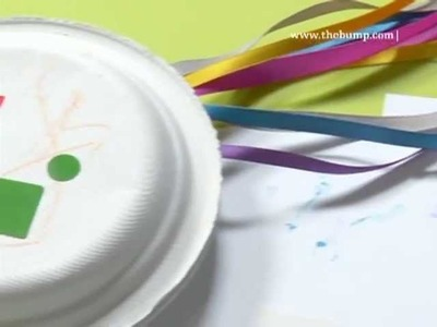 Kids Craft: How to Make a Tambourine
