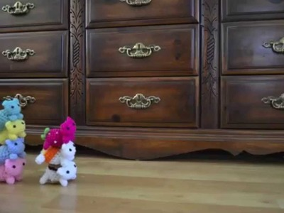 Kitty Mod Amigurumi Crochet Stop Motion Animation