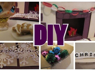 LPS: Last Minute DIY Christmas Decorations!