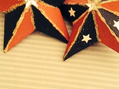 Make Pretty Patriotic Paper Mache Stars - DIY Home - Guidecentral