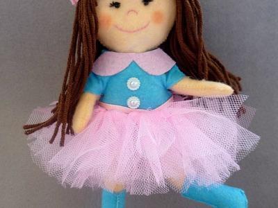 Make Stunning Felt Doll - DIY Crafts - Guidecentral