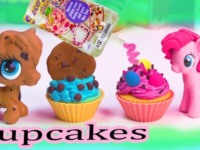 MLP Pinkie Pie My Little Pony Themed Cupcake Cookieswirlc Cookie Pony Clay Cupcakes DIY