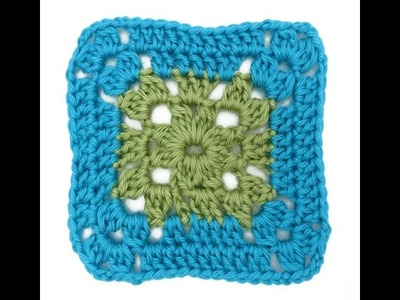 Motif of the Month April 2015: Cluster Granny Square