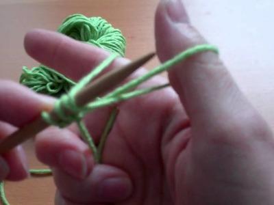 Old Norwegian Cast On for Left-Handed Knitters