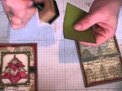 Origami Christmas Tree Card TUTORIAL -Pt 2