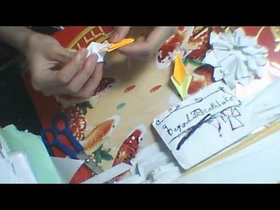 Origami ep 11 : how to make a origami christmas hanging decoration