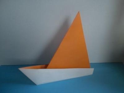 Origami: Sailboat