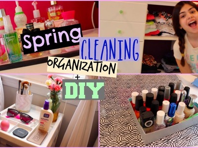 Spring Cleaning! Organization Tips+DIY