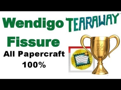 Tearaway PS VITA - 1080P - Wendigo Fissure - ALL Papercraft Locations!