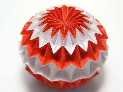 The Art of Paper Folding - How to Make an Origami paper Sphere