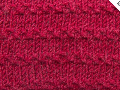 The Roman Stitch :: Knitting Stitch #525 :: Right Handed