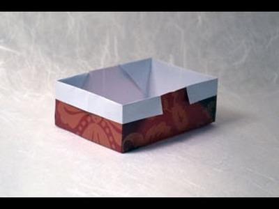 Traditional Origami Box Instructions: www.Origami-Fun.com